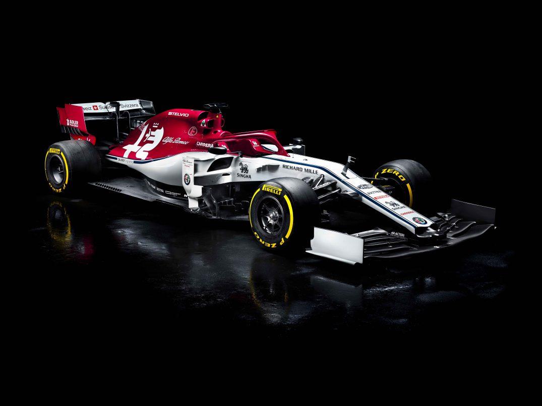 F1 2019 Alfa Romeo C38 - Ferrari; fot. sauberf1team.com